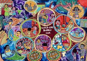 """Anuja Udavin Vidanapathirana :""""CHILD BUBBLE CAR""""-Category 2"""