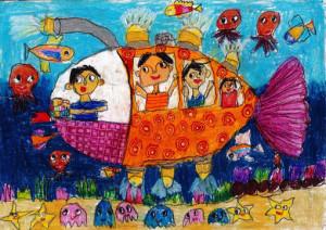 """Onithi Vihansa De Silva :""""TOYOTA SEA CAR""""-Category 1"""