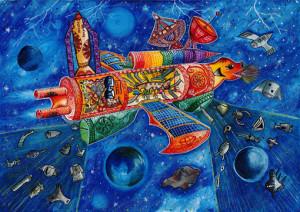 """Chamodi Kavindya :""""SPACE DEBRIS RECYCLE CAR""""-Category 3"""