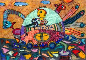 "Tehan Ilanka : ""Butterfly Car"" - Category 2"