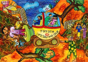 "Chathumini  Rajapakse : ""Toyota Life Saving Car"" - Category 2"