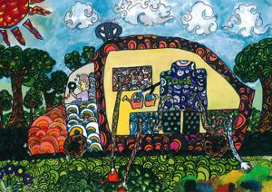 "Amandi Peiris : ""Eco Friendly Car"" - Category 3"