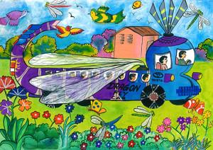 "Jeewanjana  Vidanage : ""Dragonfly Car"" - Category 2"