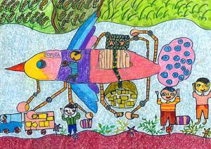 "Lithum Mallikaarachchi : ""Eco Bird Car"" - Category 1"