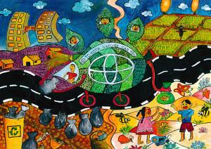 """Loneth  Peiris : """"Toyota Nature Car"""" - Category 3"""