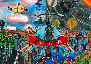 "Tharusha Devmin : ""Toyota SASE (S- Sky, A- Air, S-Sea, E-Earth) Car"" - Category 3"